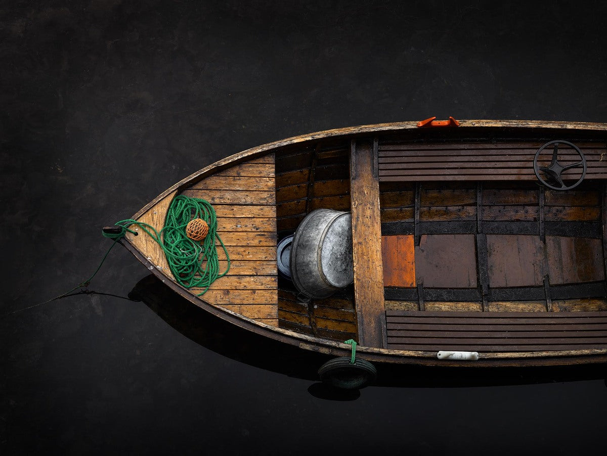 Fishing boat from Norway, Europe