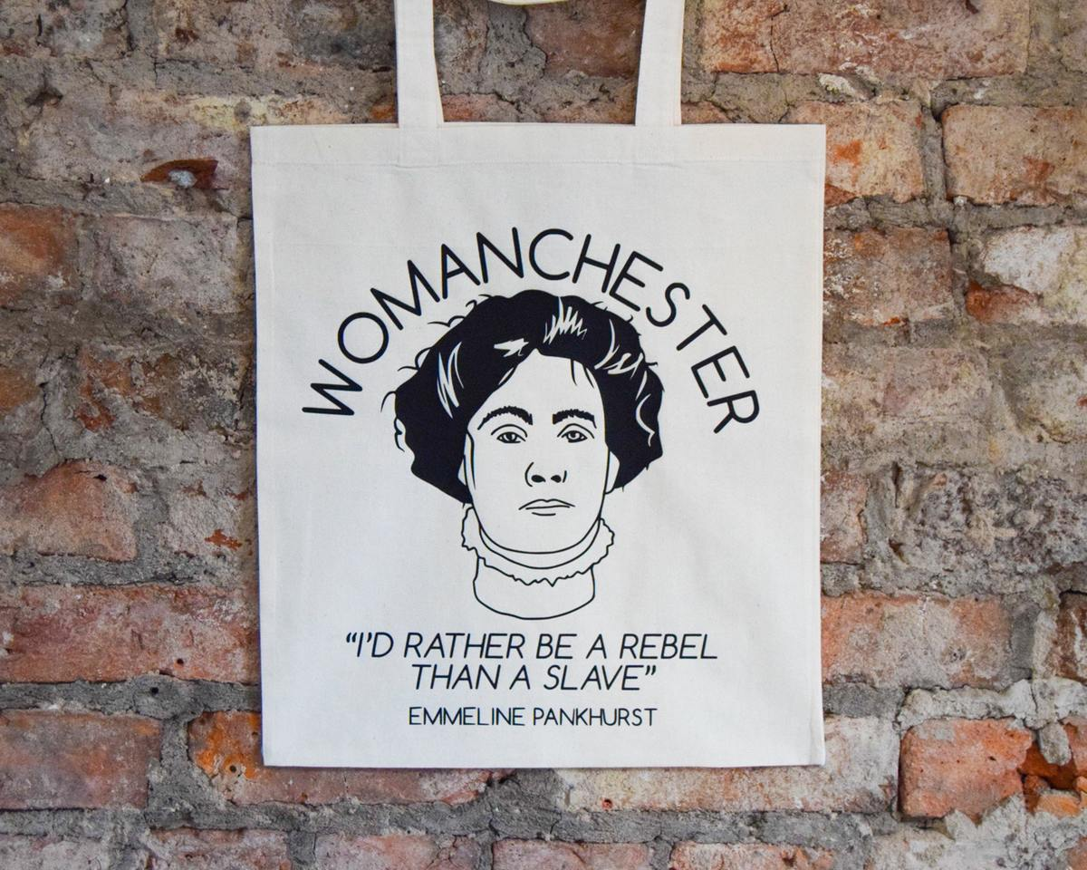 Womanchester Tote - The Manchester Shop