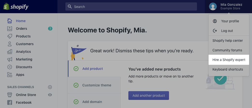 Engager un expert Shopify