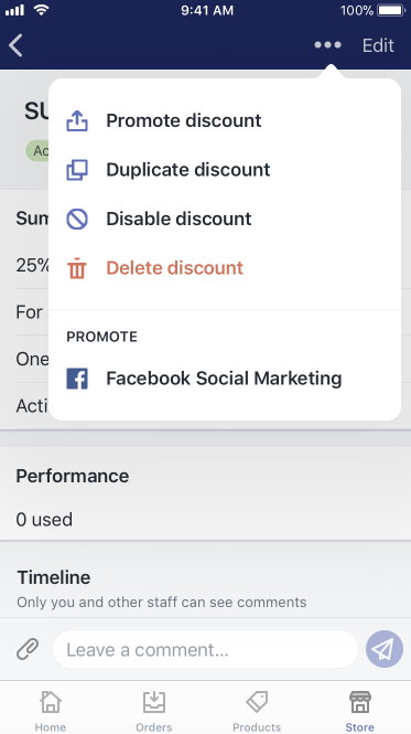 Duplicate discount - iPhone