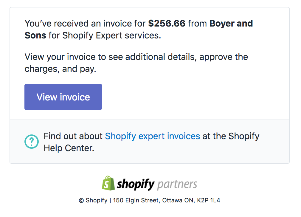 Paying Shopify Experts Shopify Help Center