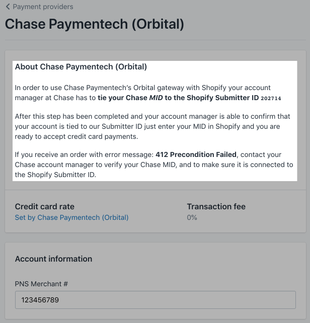 Highlighted extra payment gateway steps