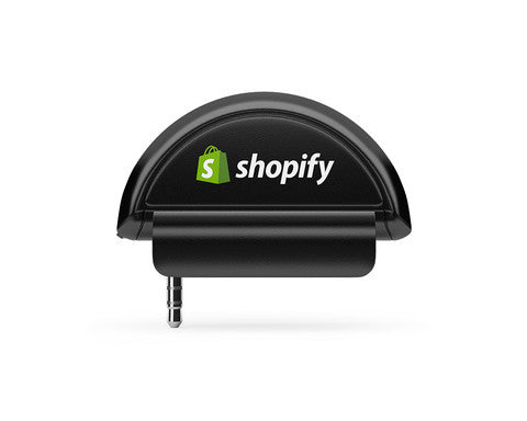 Shopify POS - audiojack card reader