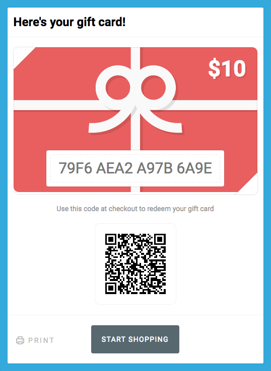 shopify gift card template